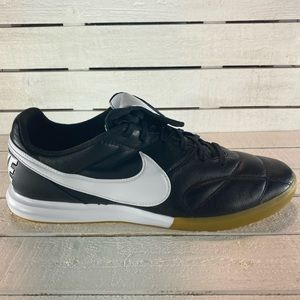 Nike Premier II IC Indoor Soccer Shoes Black White